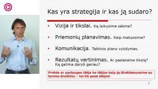 """Vladas Sapranavičius - """"Elektroninio verslo strategijos parengimas"""""""