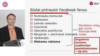 """VLADAS SAPRANAVIČIUS - """"Facebook Lietuvos el verslams ko tikėtis, ką daryti"""""""