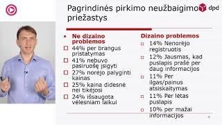 """VLADAS SAPRANAVIČIUS – """"Užsakymo proceso check out optimizavimas el parduotuvėse"""""""