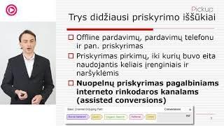 """VLADAS SAPRANAVIČIUS """"Pardavimų priskyrimas interneto reklamos kanalams attribution"""""""