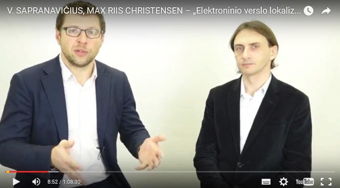 El. verslų lokalizavimas su Max Riis Christensen