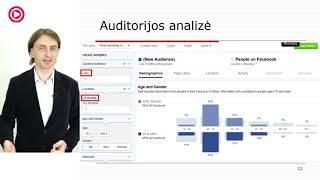 """VLADAS SAPRANAVIČIUS – """"Turimų el pašto adresų bazių panaudojimas Facebook ir Google rinkodaroje"""""""